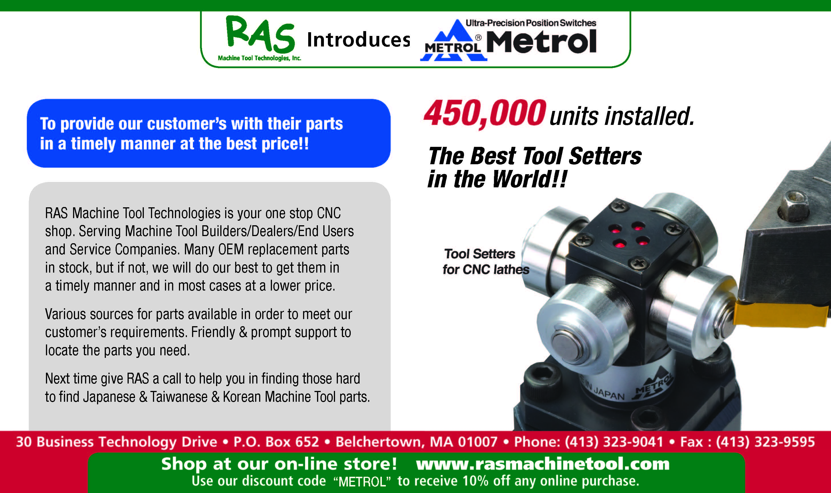 Ras Catalogs Flyers And Latest Promotions Ras Machine Tool
